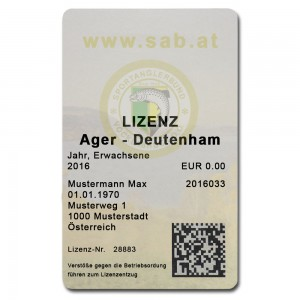 Ager Deutenham – Jahreslizenz Erwachsene
